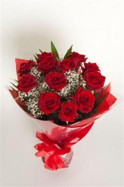 Combien de roses pour une naissance for Offrir un bouquet