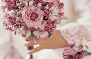bouquet mariée roses