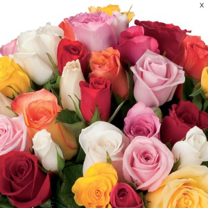 cout bouquet 70 roses