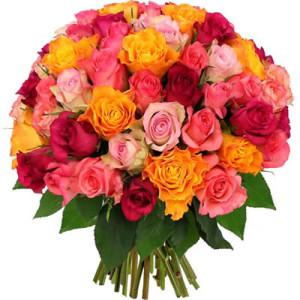 livraison bouquet 60 roses